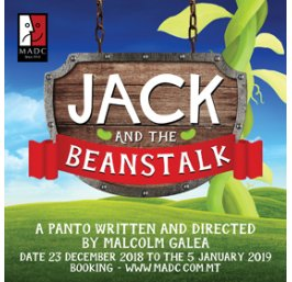 Jack and the Beanstalk malta, drama malta, theatre malta, panto malta, malta amateur dramatics club malta